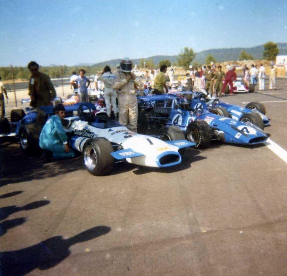 1970 1 re course internationale en formule 2 avec les for Garage patrick auto meyzieu