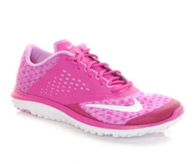 9d4f4f2a38ea3 Pink power! Up your speed in these pretty NIke FS lite running sneakers.