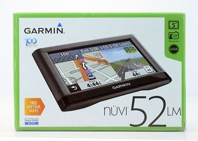 Cool NEW Garmin Nuvi LM Portable Automotive GPS Receiver - Us maps for sale