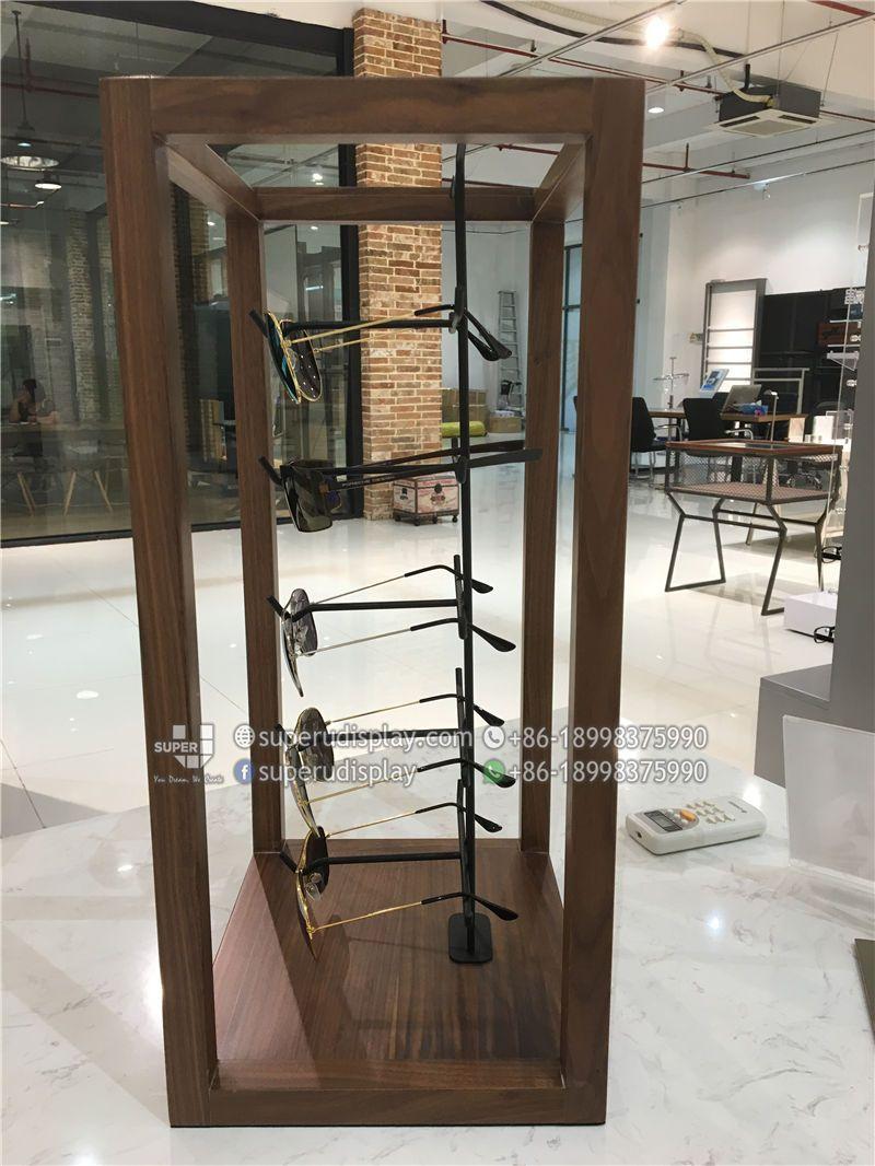 Custom Pos Merchandising Countertop Sunglass Display Rack For