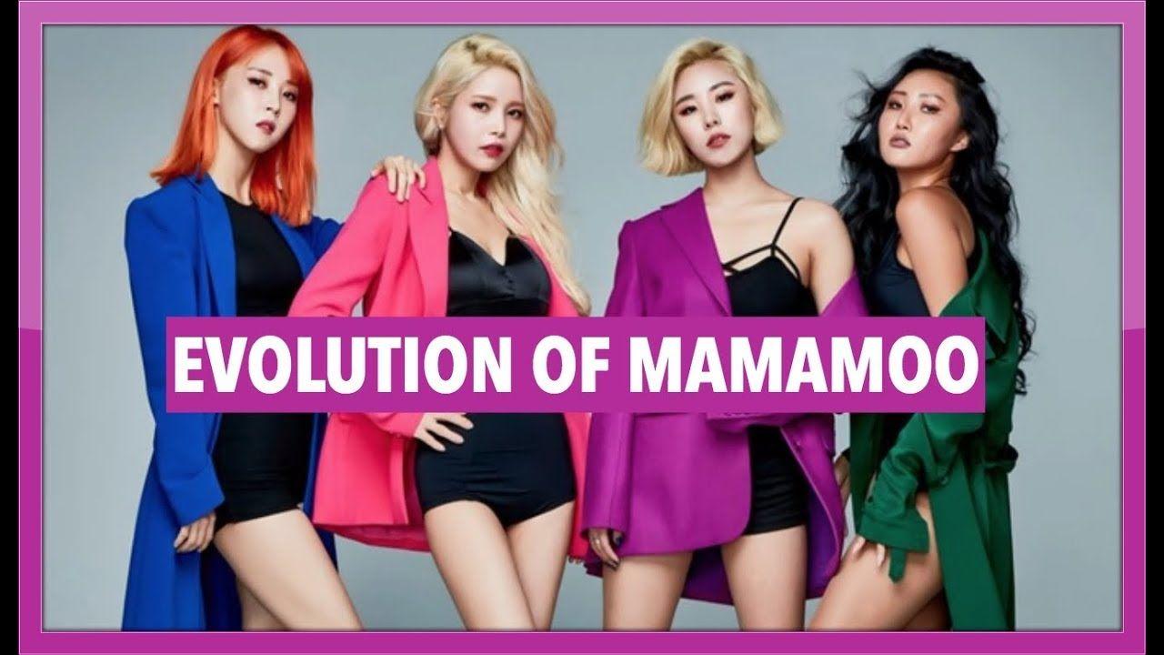 THE EVOLUTION OF MAMAMOO | 2014 - 2019 - YouTube | K-POP EVOLUTIONS