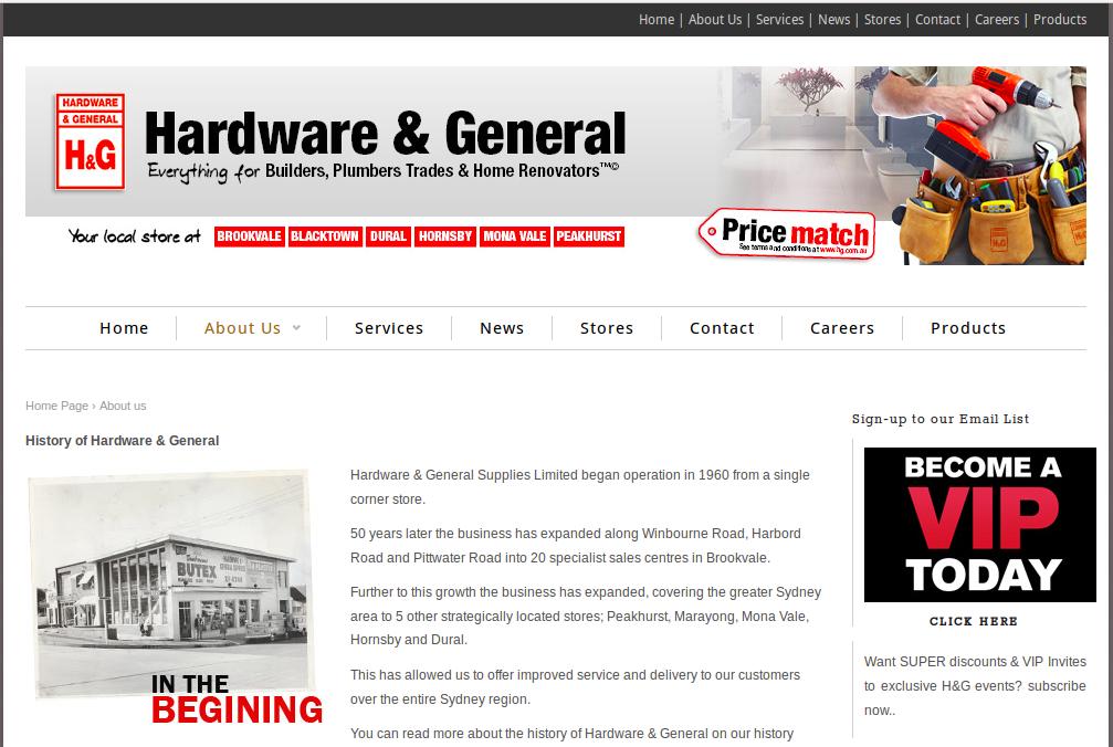 company profile for general supplies   kg   Company profile