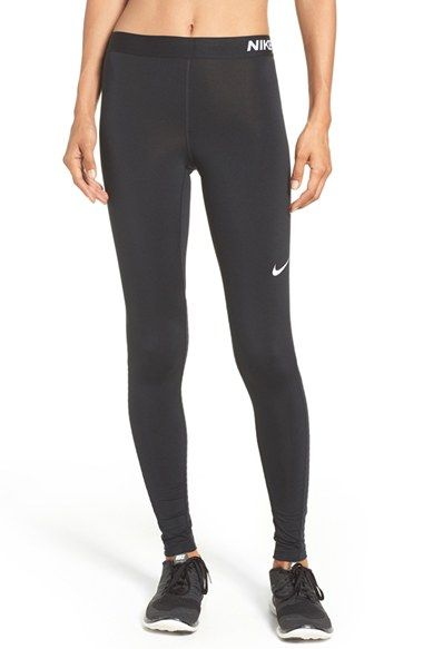 Free shipping and returns on Nike Pro Warm Tights at Nordstrom.com. These stretchy body-skimming leggings are great on their own or as a base layer in Nike's Pro Warm fabric that wicks moisture to keep you dry and comfortable. Strategic mesh behind the knees vents excess heat as you work out.