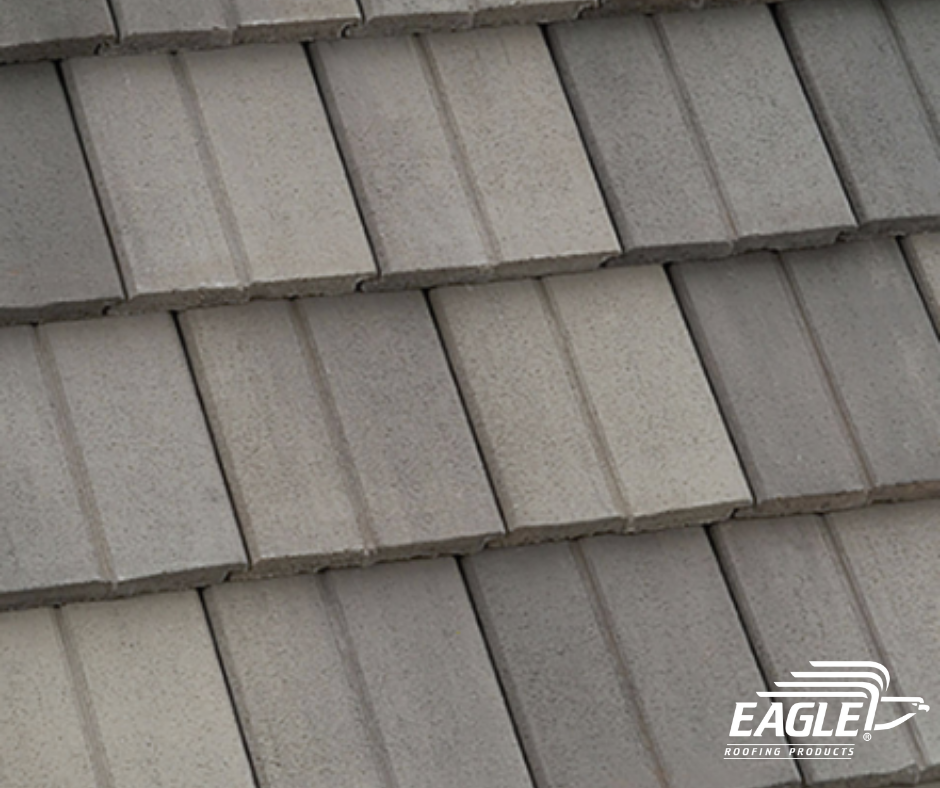 Craving A Distinctive Touch To A Traditional Flat Concrete Roof Tile Our Double Eagle Bel Air Profile S Split Appearance Provides A Textured Essence To Any Str In 2020