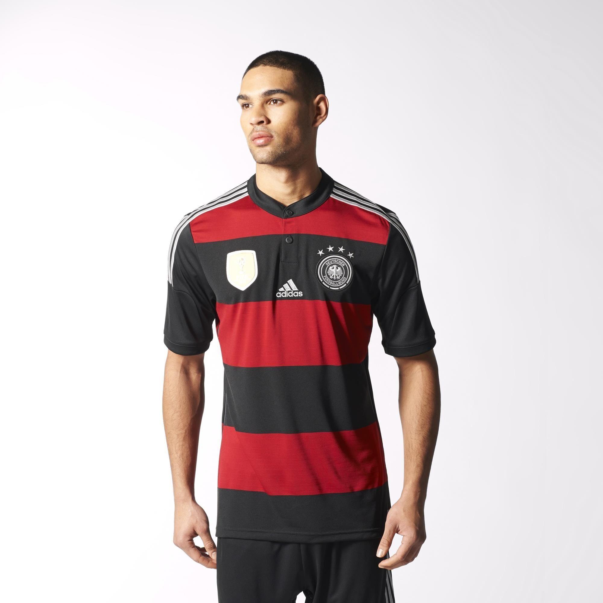 adidas Germany Winner s Away Replica Player Jersey - Black  d9f3d3ea3300f