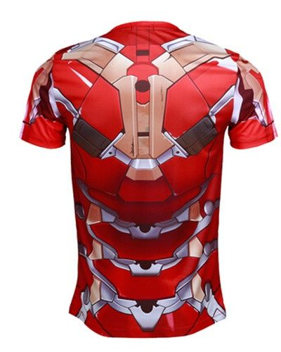 The Avengers 2 Iron Man t shirt for men Avengers Age of Ultron sport tee -