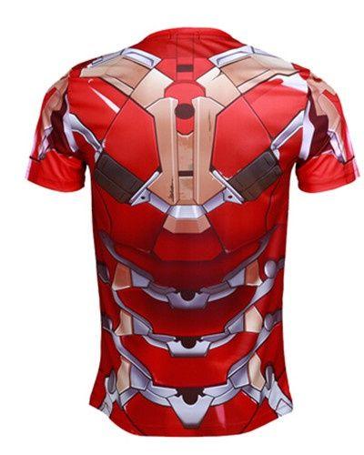 The Avengers 2 Iron Man t shirt for men Avengers Age of Ultron sport tee -