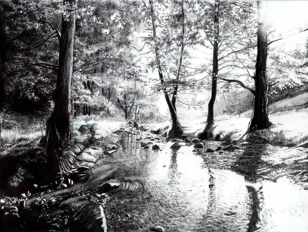 Forest creek by KittyAlea on DeviantArt | COLORING for ...