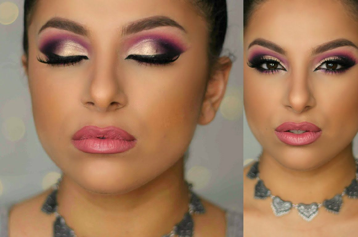 Purple gold glam makeup tutorial makeup by leyla makeup purple gold glam makeup tutorial makeup by leyla baditri Image collections
