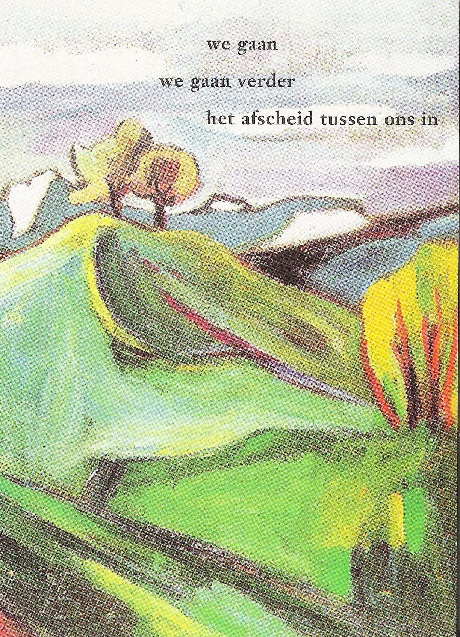 Beste Gedicht: Willem Hussem. Beeld: Helmuth Macke. (met afbeeldingen IE-65
