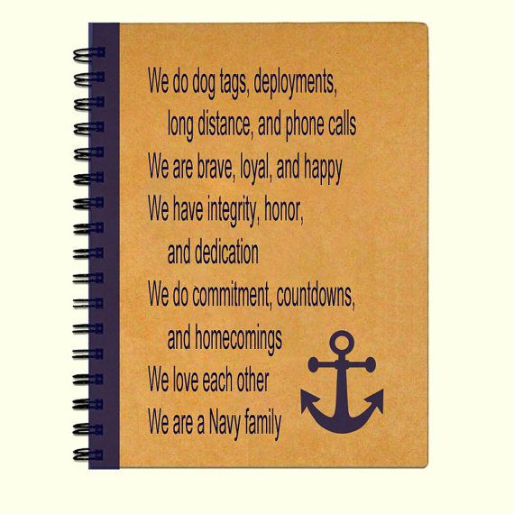 Kraft paper Navy family journal or notebook. Journal is 5x7 and can be made with either white or lined pages, please specify at checkout. 75 pages