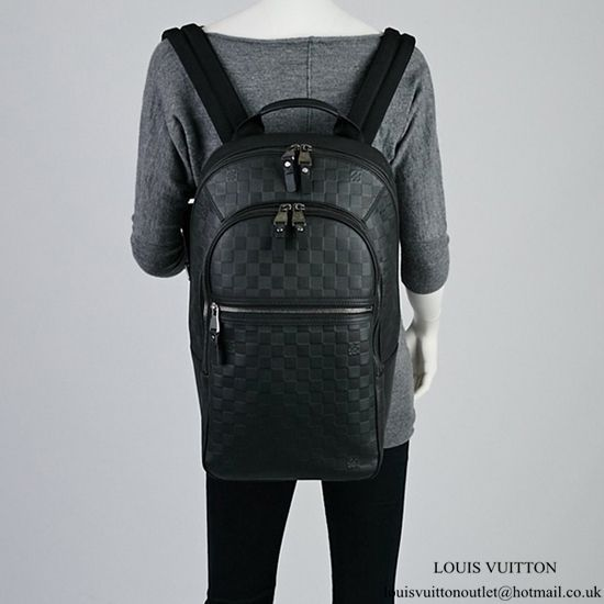 849693fbaad9 Louis Vuitton N41330 Michael Backpack Damier Infini Leather Louis Vuitton  Mens Bag
