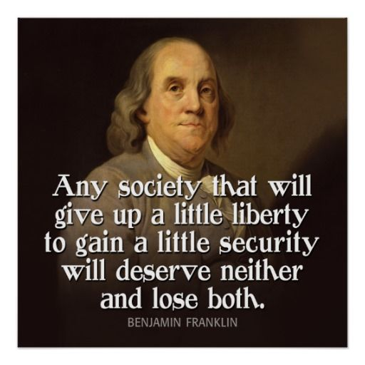 Ben Franklin Quote Any Society That Will Give Poster Zazzle Com Founding Fathers Quotes Ben Franklin Quotes Freedom Quotes