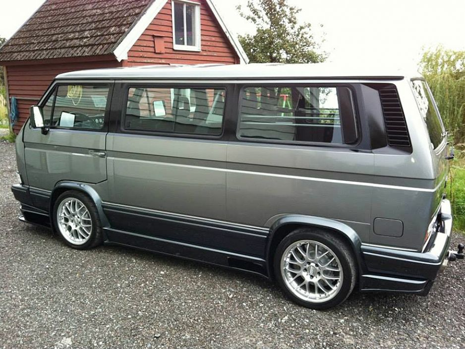 vw t3 caravelle coach mit v8 motor tuning chevy. Black Bedroom Furniture Sets. Home Design Ideas