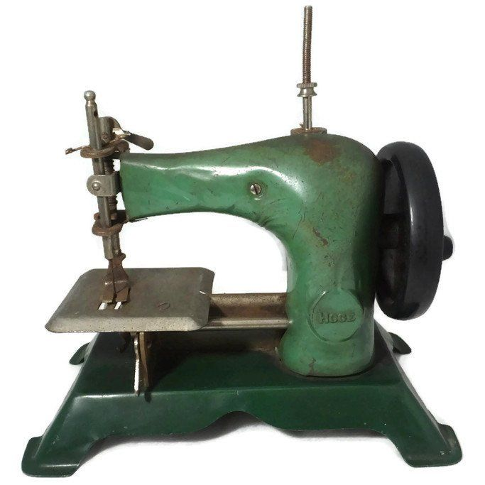 Vintage Toy Sewing Machine Childs Antique Retro Toy Miniature Old Extraordinary Old Sewing Machines Brands