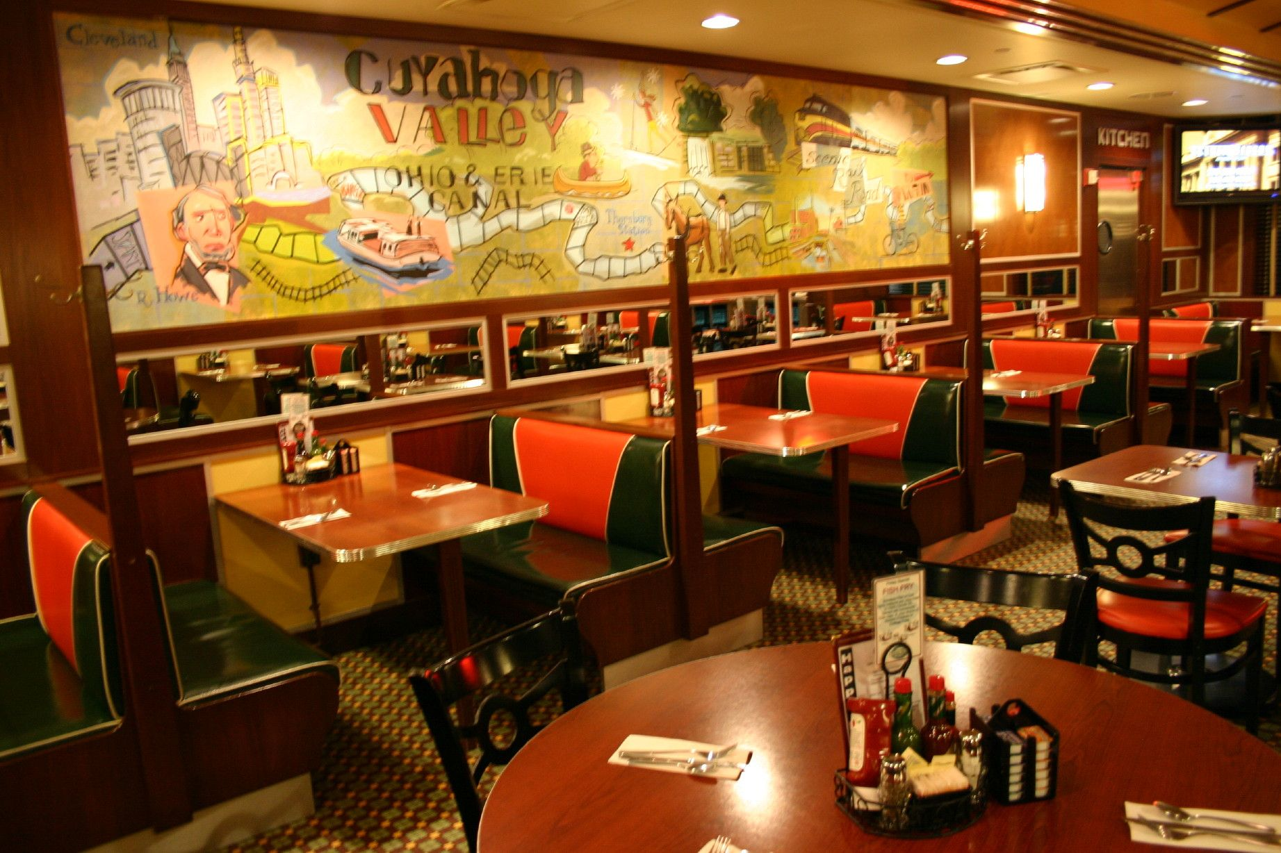 Yours Truly Restaurant At Rockside And Canal In Valley View Ohio