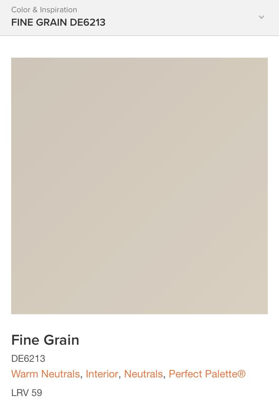 Fine Grain Dunn Edwards Paint Home Decor In 2019