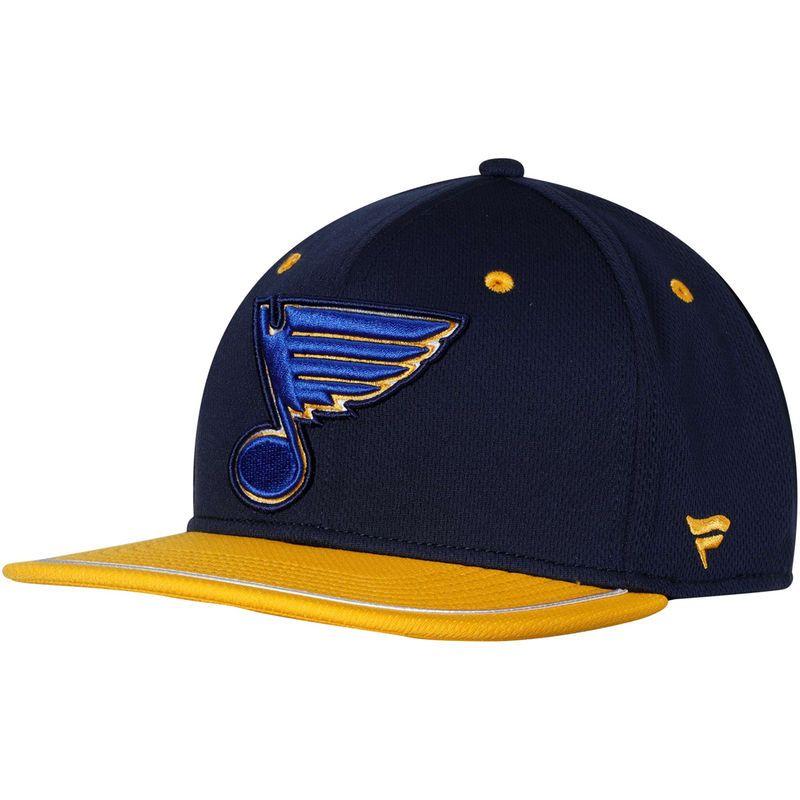 navy-yellow Louis Blues 9Fifty Snapback Cap New Era NHL St