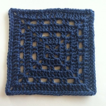 Skipping stitches creates spaces that can be really effective ...