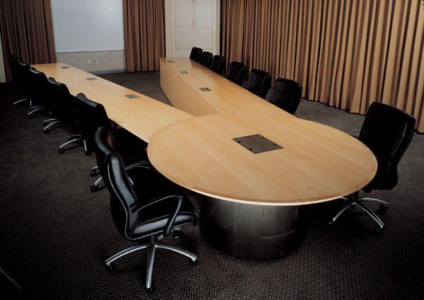 Salman Furniture Custom TeleConference Vshaped Table Conference - V shaped conference room table