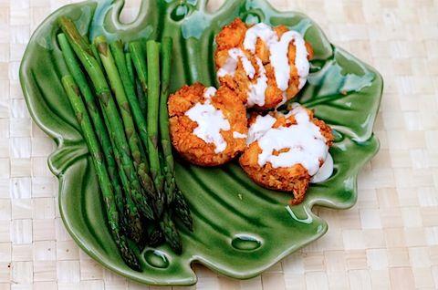 Buffalo Chicken Quinoa bites - Meals & Miles