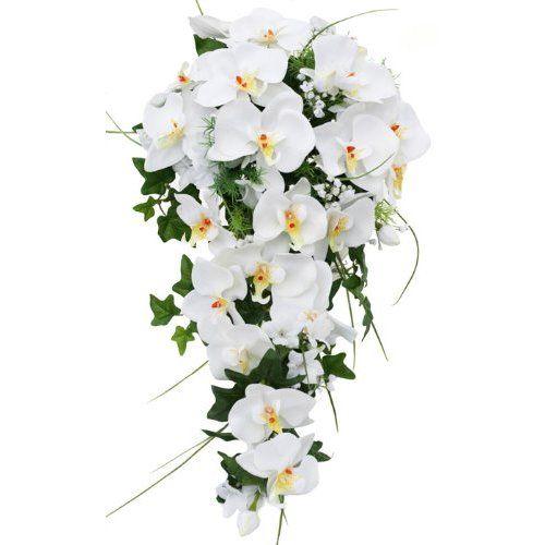 Amazon.com: Tropical Silk Orchid Cascade - Wedding Bouquet: Everything Else