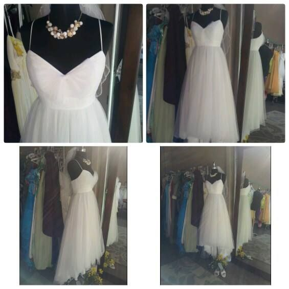 David's Bridal Size: 2 Color: White Price: $175 New With