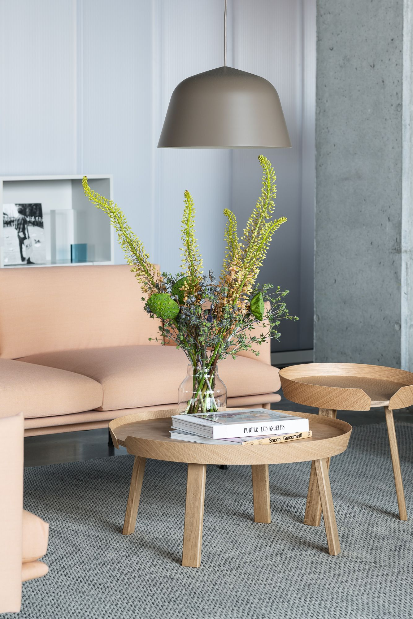 Minimal And Modern Vase For Summer Flower Decorations From Muuto A Form In Scandinavian Design Coffee Table Coffee Table Furniture Design Coffee Table Design