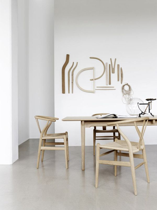 wishbone chair by hans j wegner for carl hansen søn pinterest