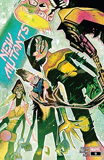New Mutants 2019 9 Writer Ed Brisson Artist Flaviano Cover Mike Del Mundo March 11 Release In 2020 Comics Mutant Comic Book List