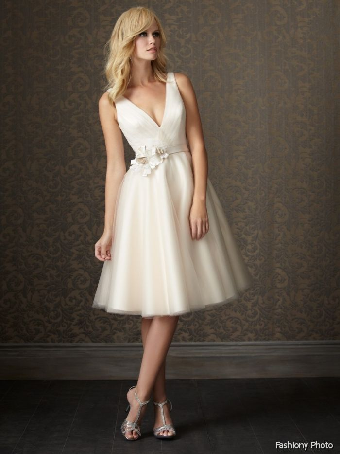 knee length wedding dresses - Google Search | Weddings Weddings All ...