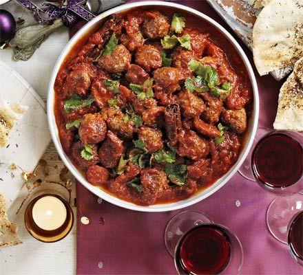 Moroccan kofte chorizo stew recipe recipes bbc good food moroccan kofte chorizo stew recipe recipes bbc good food forumfinder Images