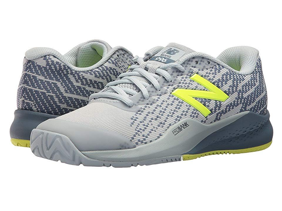 New Balance 996v3 Light Porcelain Blue Solar Yellow Women S