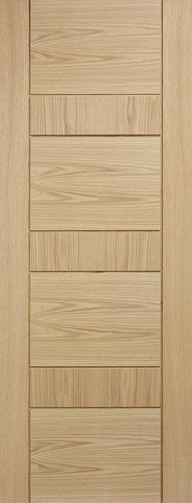Leeds Doors Edmonton Prefinished 78x30 Oak Door Internal Doors