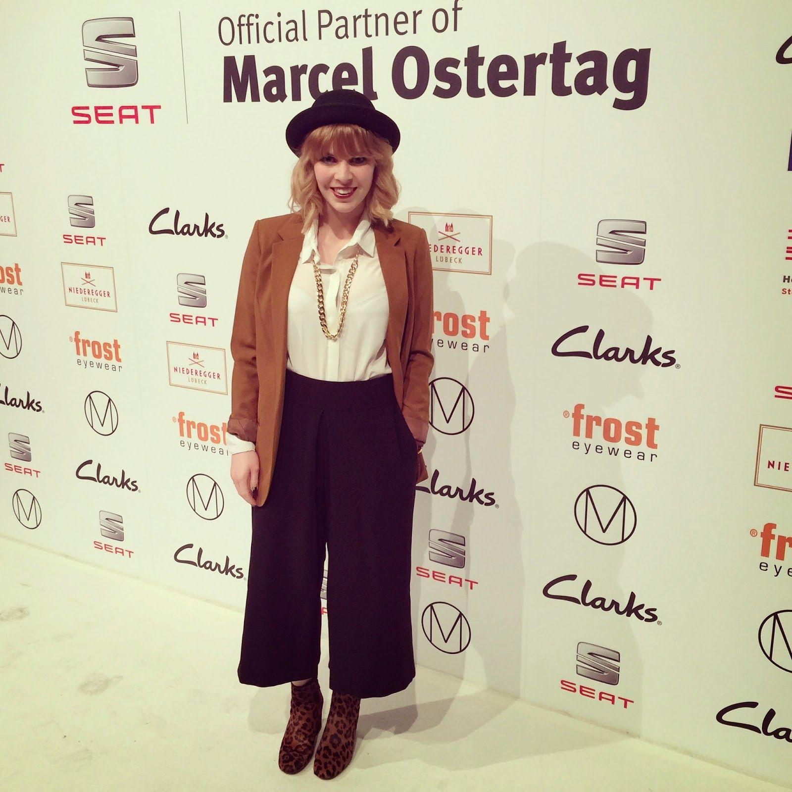 Fashion Week Berlin: Marcel Ostertag & Clarks. Die Fashionbloggerin Stefanie war dabei! Eindrücke gibt es auf ihrem Blog: http://modepuppe-bremen.blogspot.de/2015/01/fashion-week-berlin-marcel-ostertag.html