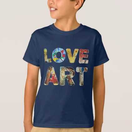 Funny Kids Childrens T-Shirt tee TShirt Peace Love Skate