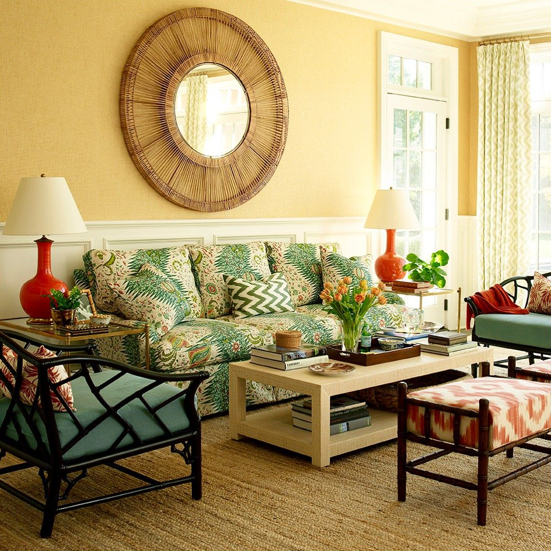 96 Fun Facts About Your Favorite Bridal Designers: Here Are A Few Photos Of The Family Room Of Our Beautiful