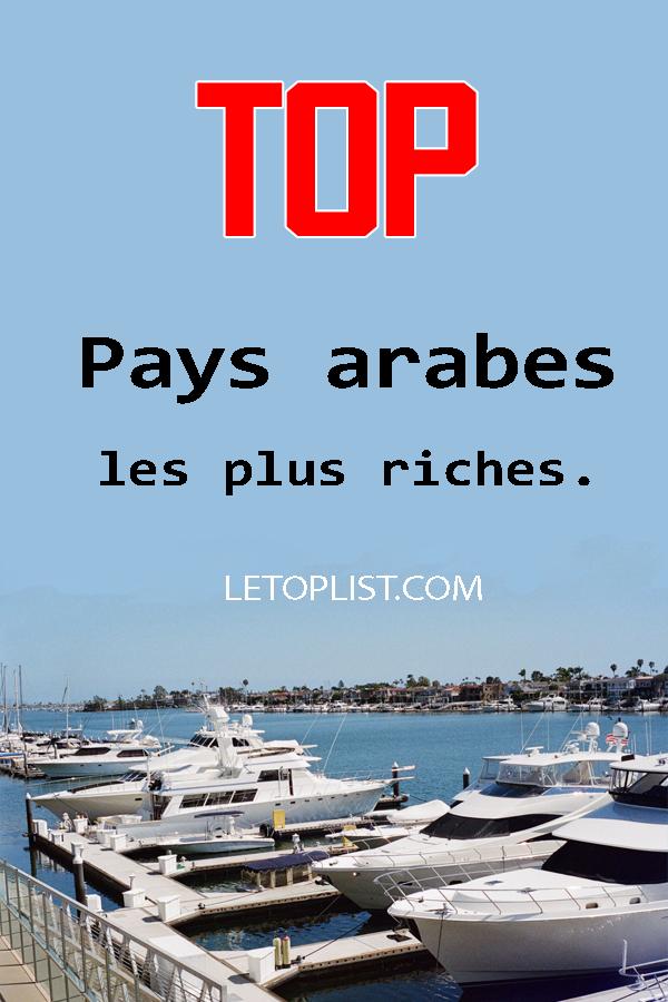 Classement Des Pays Arabe Les Plus Riche Les 50 Pays Les