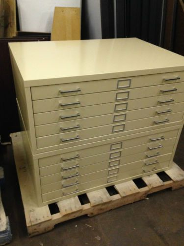 10 drawer flatblue print file cabinet by safco in putty color drawers 10 drawer flat blue print file cabinet by safco in putty color ebay shipping available malvernweather