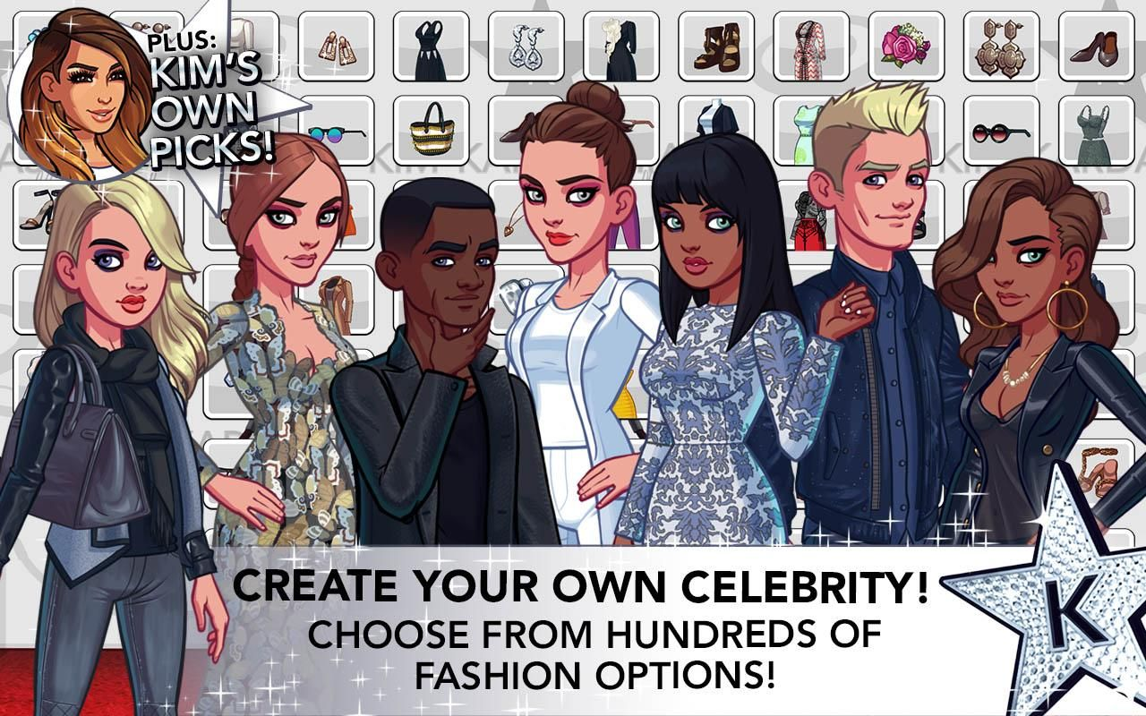 kim kardashian hollywood mod apk unlimited stars and money