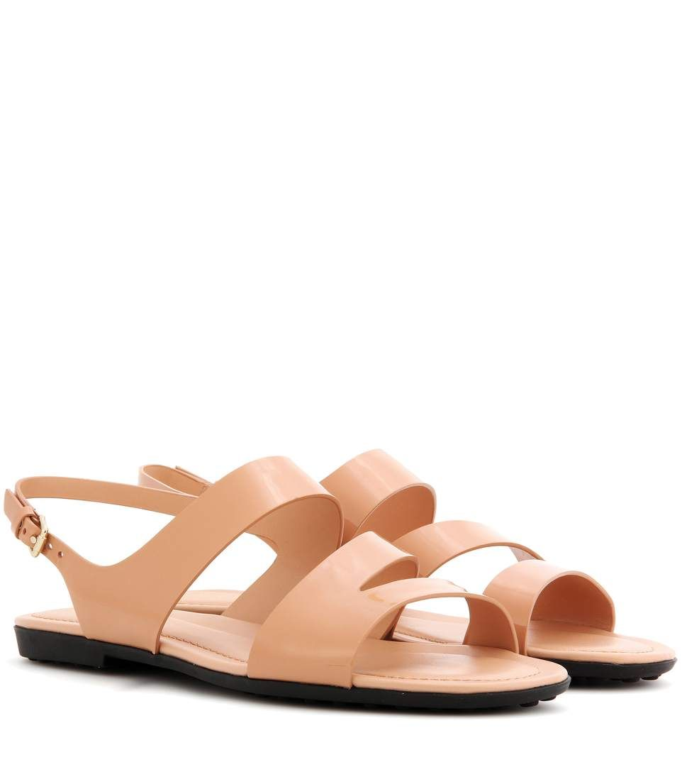 Tod's Patent leather sandals FuI21bmb