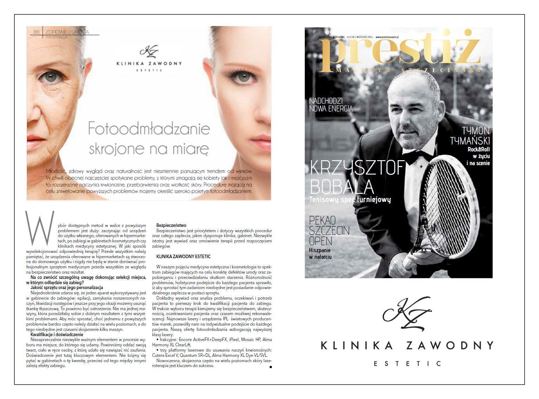 Fotoodmładzanie skrojone na miarę!   Zapraszamy do zapoznania się  z artykułem: http://www.prestizszczecin.pl/magazyn/85/zdrowie-i-uroda/fotoodmladzanie-skrojone-na-miare