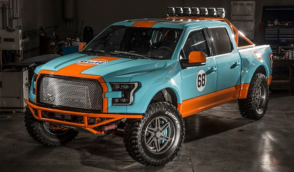 Everybody loves a good gulf livery but how excellent is the old everybody loves a good gulf livery but how excellent is the old school grille on this f 150 also mozeypictures Gallery