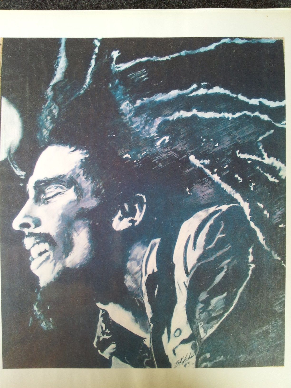 Olds Cool Rasta Style. The Black Hatter. My bio says that ... Respect Hat Marley