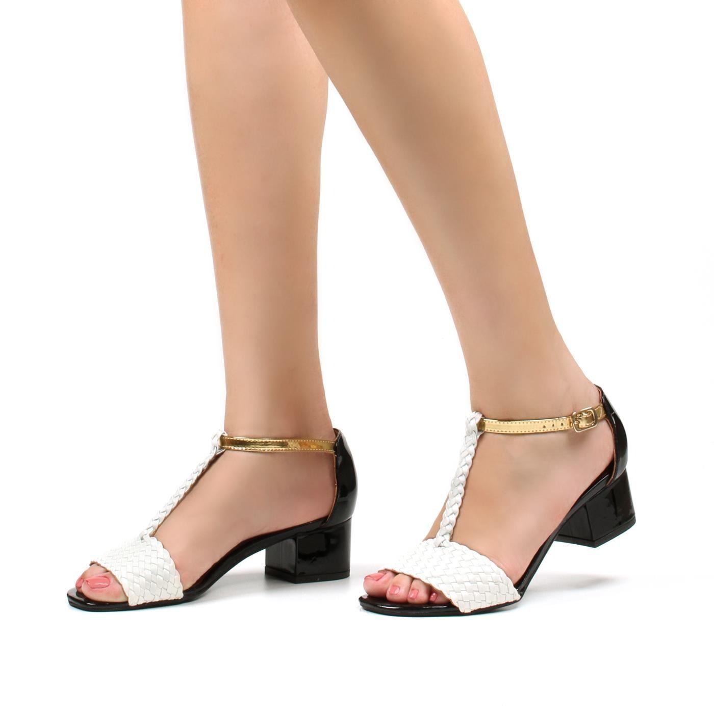 fb53c7065 SANDÁLIA TRISSÊ SALTO BAIXO Sapatos Confortáveis Para Trabalhar, Sapato  Esporte Fino, Sandalia Salto Baixo