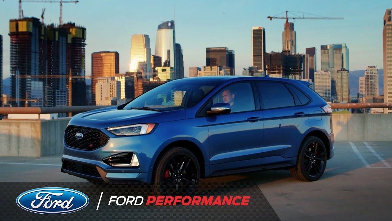 The 2019 Ford Edge St Ford Performance Youtube Ford Edge 2019 Ford Ford