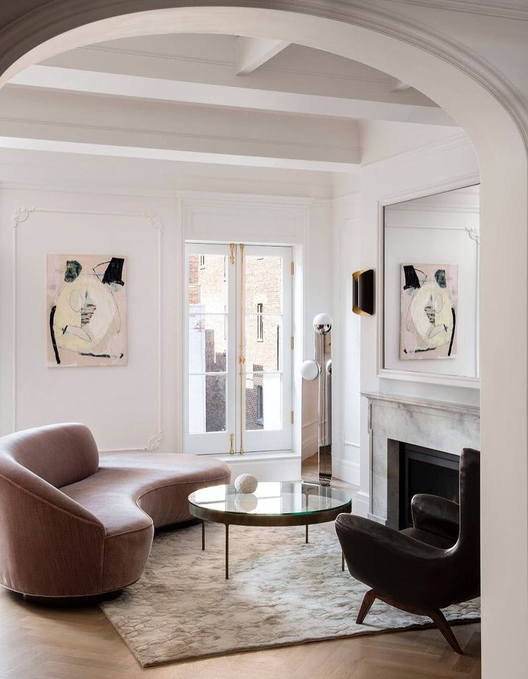 Sophisticated Whimsy Sfgirlbybay Luxury Living Room Living Room Interior House Interior Living room arch accessories