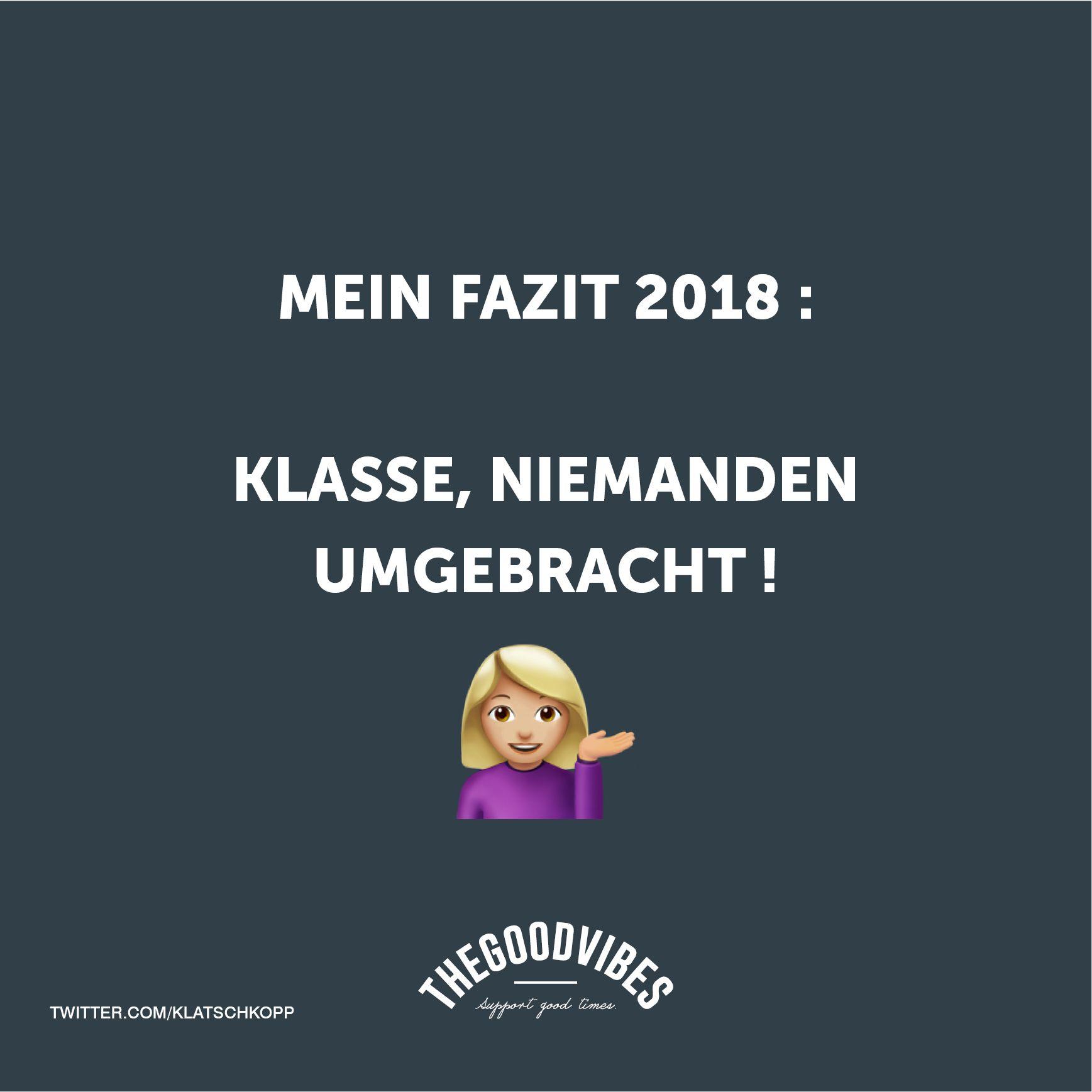 Mein Fazit 2018 Sprüche O2 Partner