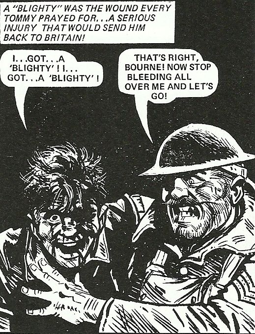 8 Blighty This Image Came From An Article In A Magazine Named Charleys War I Found Really Interesting Because Ive Always Seen Comics As