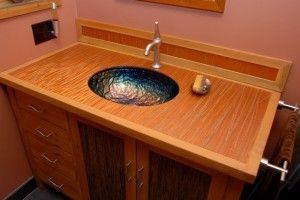 Custom Bathroom Vanity by Todd Randall. More info here:  http://santacruzconstructionguild.us/todd-randall